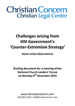 'Counter-Extremism Strategy' Initial Observations Booklet