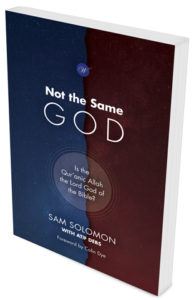 Not the same God Book Cover